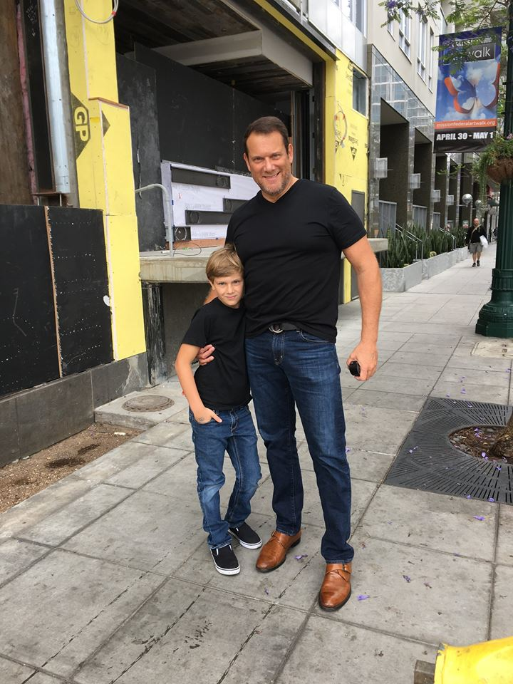 Stephen Beck and son