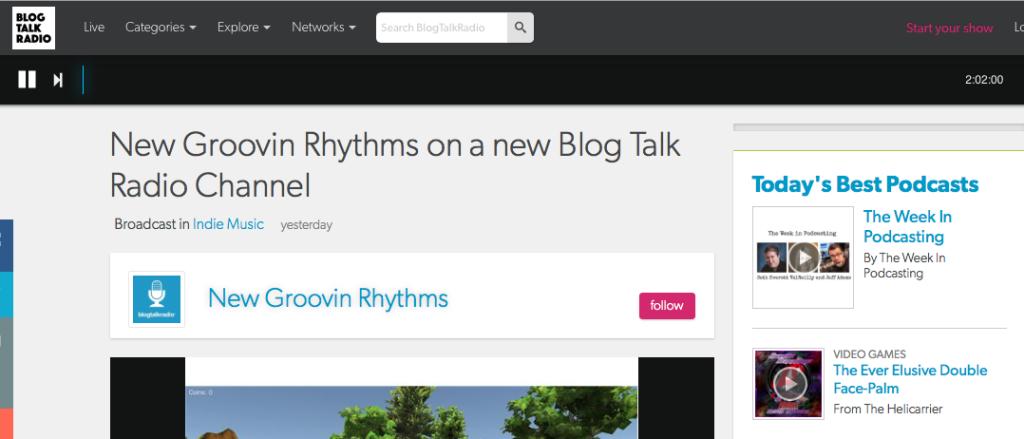 Blog Talk Radio Cosmic Grounding
